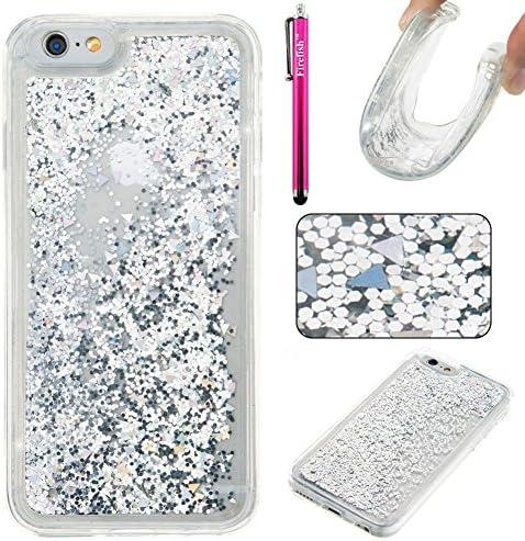 Cover iPhone 6S Plus Silicone Glitter