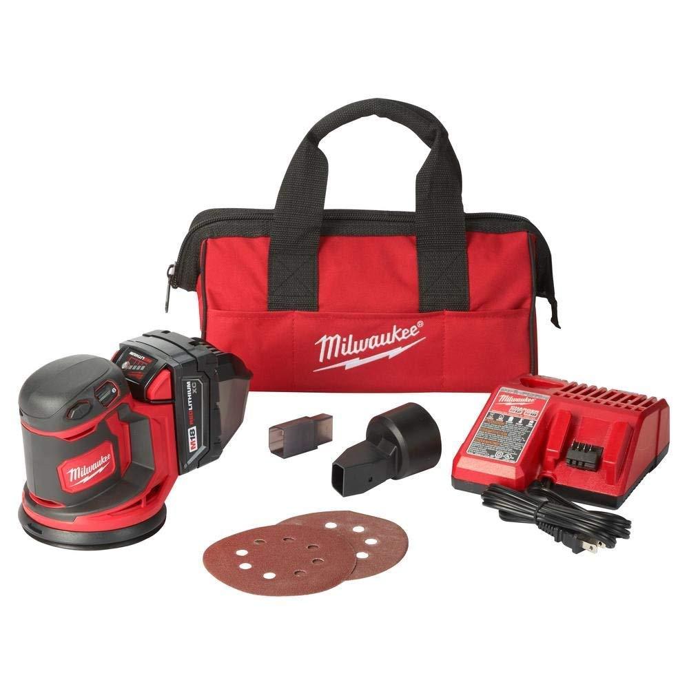 Milwaukee Electric Tools 2648-21 M18 Random Orbit Sander Kit by Milwaukee Electric Tools