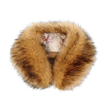sito affidabile 7eb4c 8c209 Donna inverno Faux Pelliccia sintetica Sciarpa Collare ...