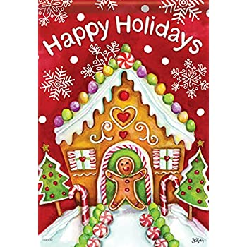 Gingerbread holiday standard size 28 inch for Custom decor inc