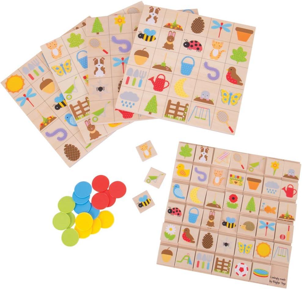 Bigjigs Toys Garden Bingo