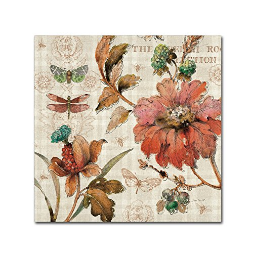 """French Country V Wall Decor by Lisa Audit, 24"""" x 24"""" Canvas Wall Art"""