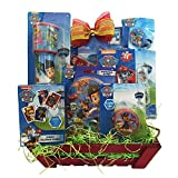 Paw Patrol Valentine Gift Baskets With Pinball Games For Boys And Girls 3 to 7 Years Old
