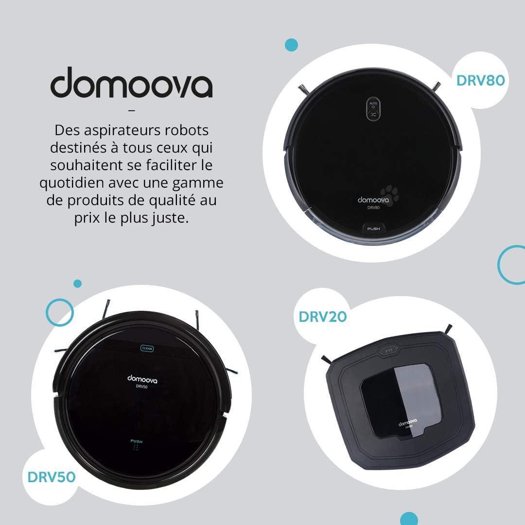 DOMOOVA DRV50 - Robot aspirador y fregona: Amazon.es: Hogar