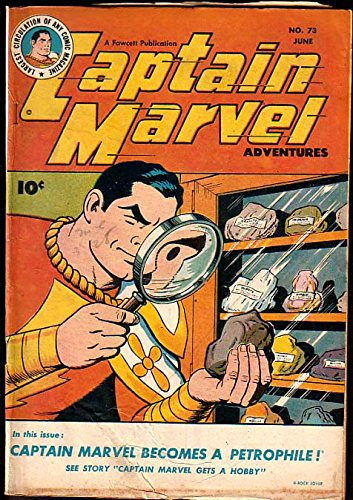 Cvr Glass (CAPTAIN MARVEL ADVENTURES #73-MAGNIFYING GLASS CVR G/VG)