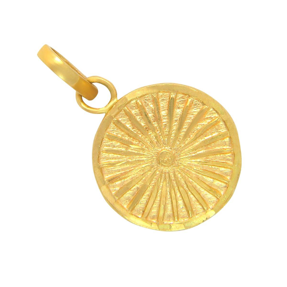 Popleys 22k  916  Yellow Gold Pendant Women\'s Pendants