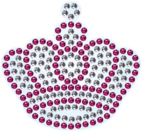 3 x Corona Imán para nevera Diamante Rhinestone Crystal Bling ...