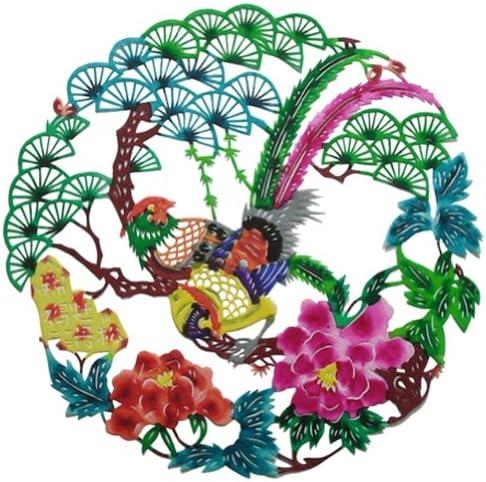 美しい鶏/牡丹/パイン伝統的な繊細な中国の紙の装飾カット