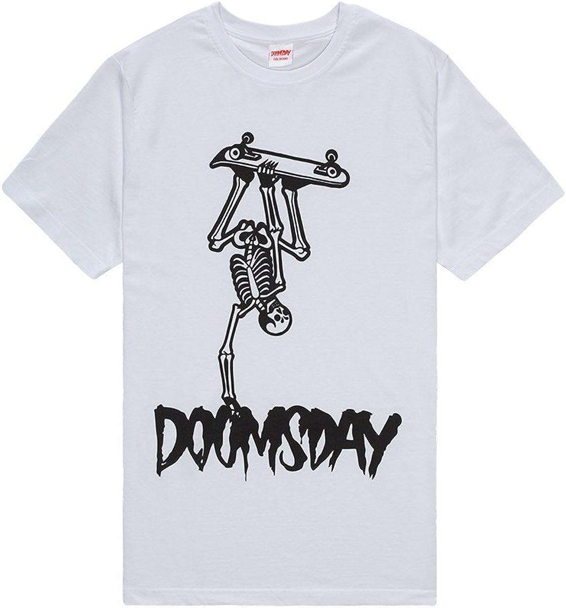 Doomsday Handplant - Camiseta (Talla M), Color Blanco: Amazon.es: Ropa y accesorios