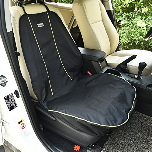 Water-proof Pet Car Seat Cover Dog Cat Puppy Seat Mat Blanket Black - 7