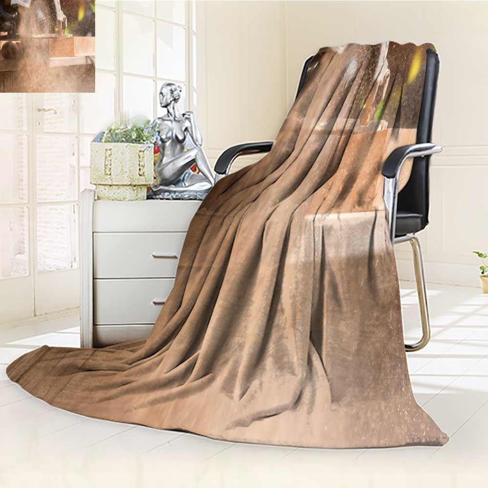 AnalisaHome Luminous Microfiber Throw Blanket close up electric saw to sawing wood board solf focus Glow In The Dark Constellation Blanket, Soft And Durable Polyester(60''x 50'')