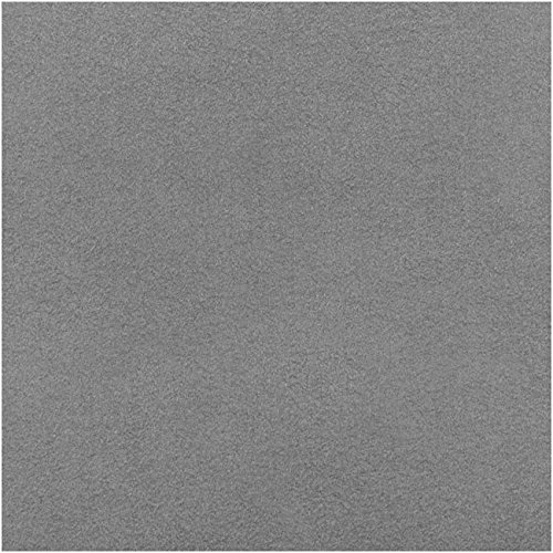 Ultra Suede For Beading Foundation And Cabochon Work 8.5x4.25 In. - Silver ()