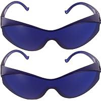 Artibetter 2 Piezas Gafas Protectoras Gafas Ipl Dispositivo de Depilación Gafas Anteojos Gafas de Seguridad a Prueba de…