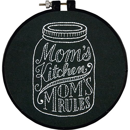 DIMENSIONS Stitch Wits Mom's Kitchen Stamped Embroidery K...