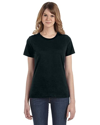 4fccd431 Amazon.com: Anvil Women's Ringspun Cotton T-Shirt: Clothing