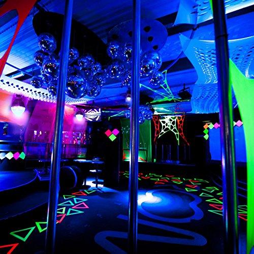LaluceNatz 18W Black Lights Bulbs with 6 UV LED Bulb UV Spotlight E27 by LaluceNatz (Image #5)