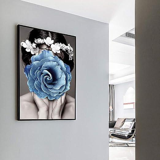 jzxjzx Pintura Decorativa sin Marco Pinturas abstractas Porche ...