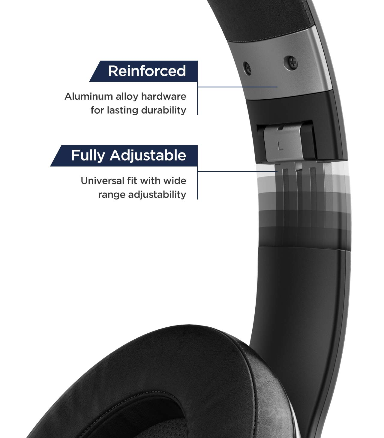 Blackbay Wireless iPhone Headphones with Lightning Connector (Apple MFi Certified) Bluetooth Earphones for iPhone 7, 8, Xr, Xs Max (w/Built-in Mic) ...