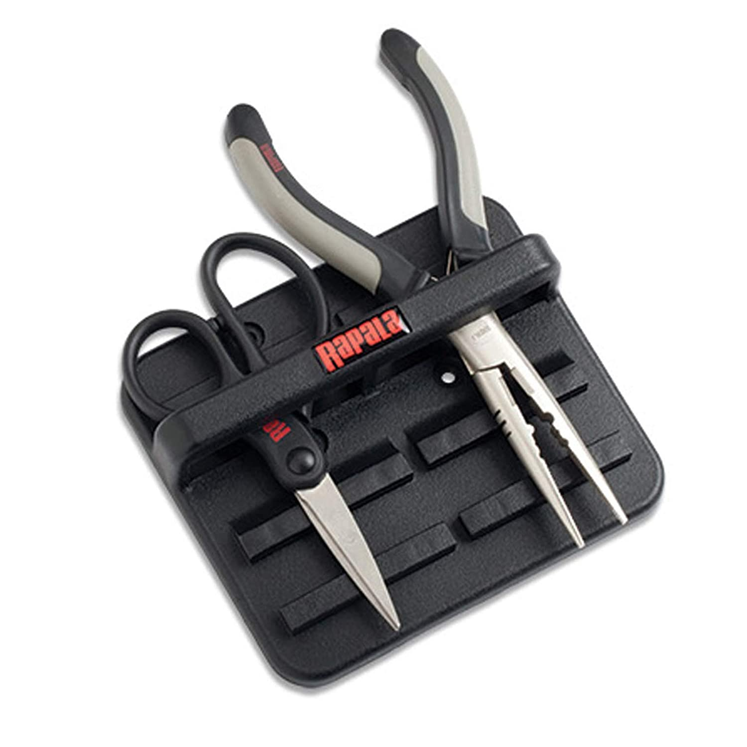 Two Place Black Rapala Magnetic Tool Holder