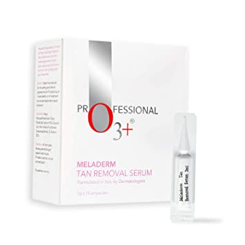 O3+ Meladerm Tan Removal Serum – Tan Removal Detanning Solution for Visible  Lighter and Bright Skin