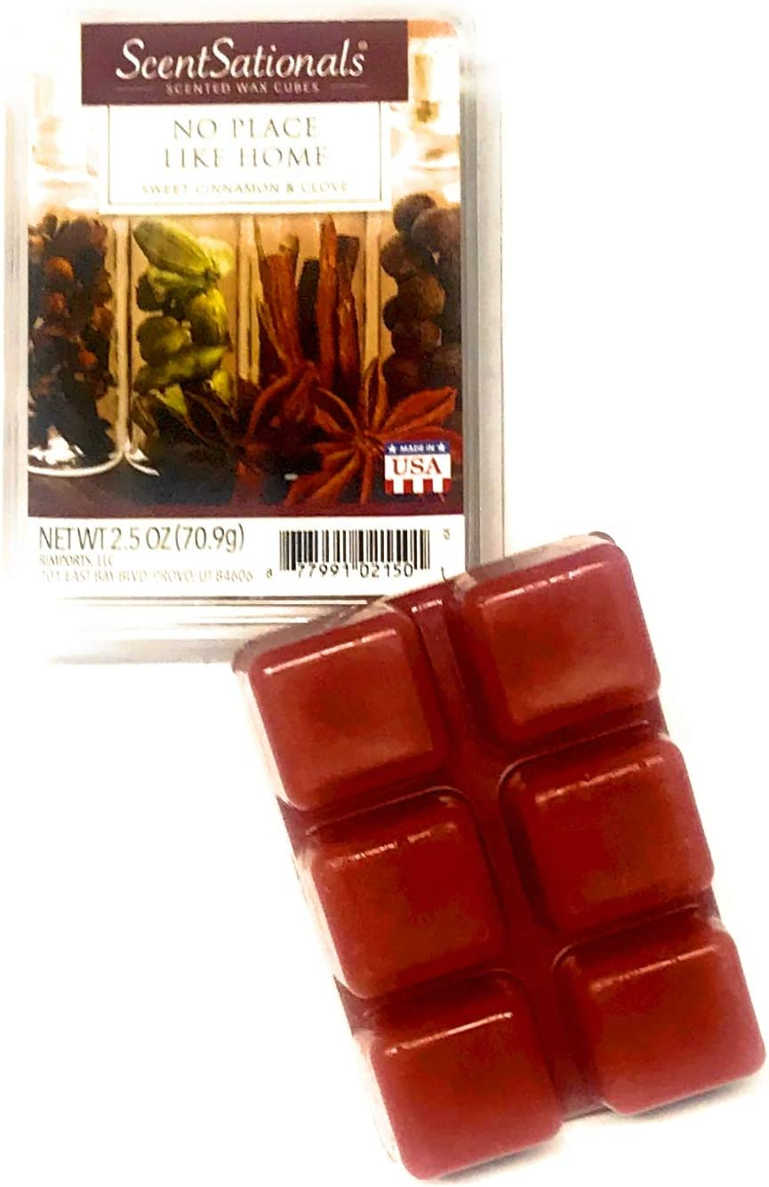 ScentSationals No Place Like Home Scented Wax Cubes, 2.5 OZ Package