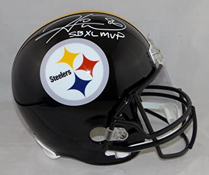 7204c0500b8 Image Unavailable. Image not available for. Color  Hines Ward SB MVP  Autographed Pittsburgh Steelers ...