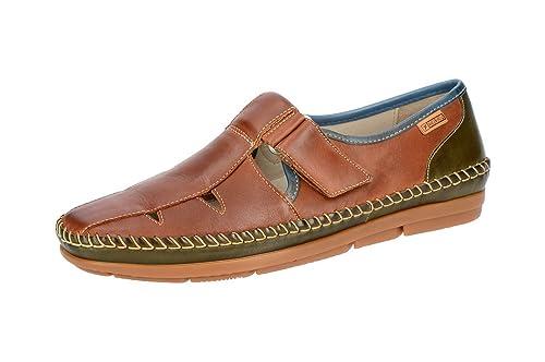 Pikolinos M4K-3136 Cuero-Seaweed - Mocasines de Piel Lisa para Hombre: Amazon.es: Zapatos y complementos