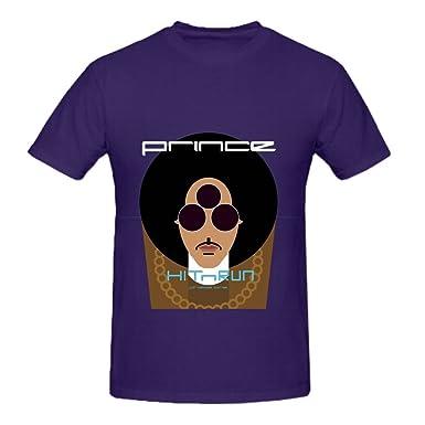 Prince Hitnrun Phase One Men Crew Neck Art T Shirts XXXX-L: Amazon ...