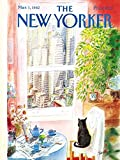New York Puzzle Company - New Yorker Cat's Eye View - 1000 Piece Jigsaw Puzzle