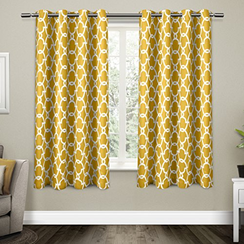 Exclusive Home Gates Sateen Blackout Thermal Window Curtain