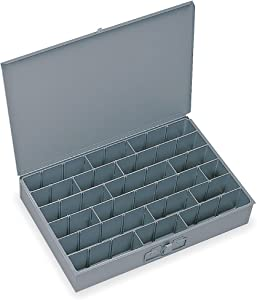 Compartment Box, 12 in D, 18 in W, 3 in H