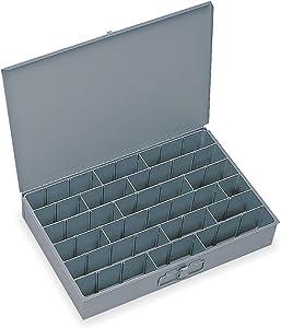 Compartment Box, 12 in D, 18 in W, 3 in H