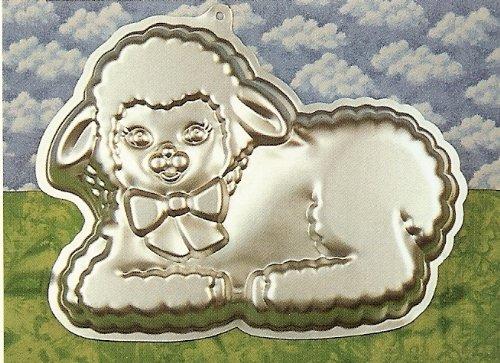 Wilton Gentle Lamb Cake Pan (2105-2515, 1990) ~ Full-Size ~ Retired