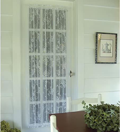 Heritage Lace English Ivy 48W x 40L in. Door Curtain Panel – Ecru