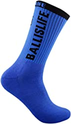 Ballislife Royal Blue/Black Elite Socks (1 Pair)