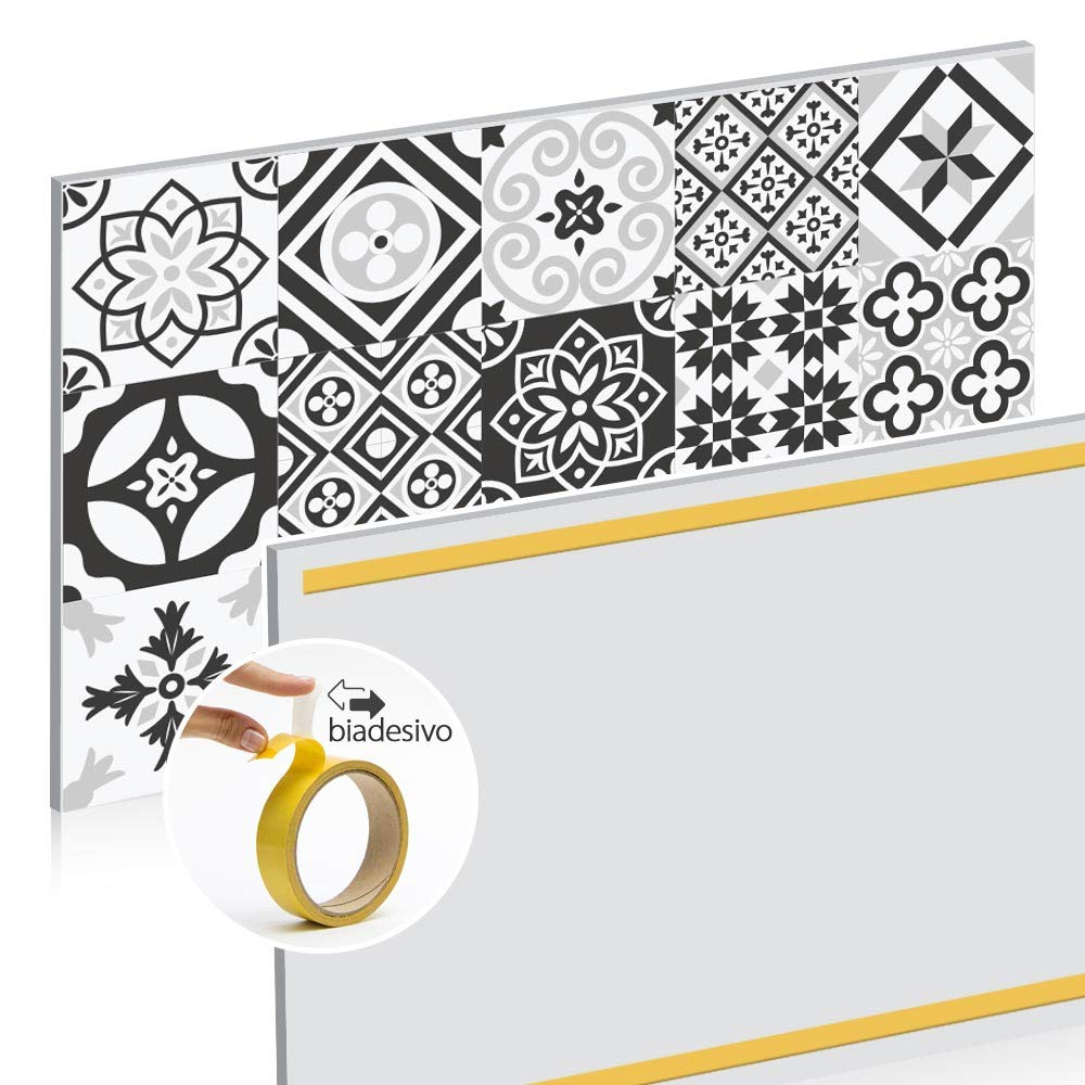 Stampa in altissima risoluzione Resistente al Calore kina PR00067 Misure 70x50 cm Pannello paraschizzi Retro Piano Cottura in Plexiglass
