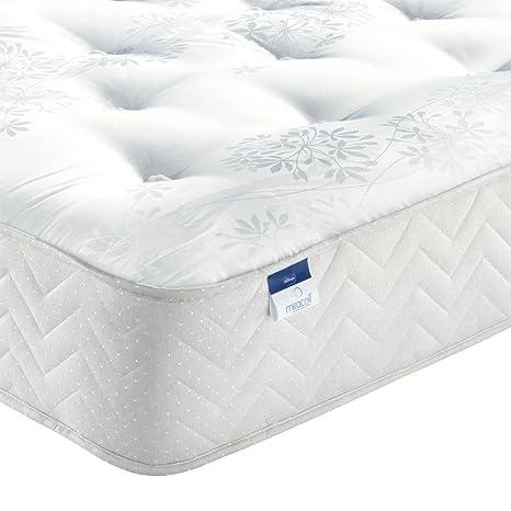Silentnight Miracoil Bexley colchón individual - respaldo ortopédico. Firme, cómodo. Anti-alergia