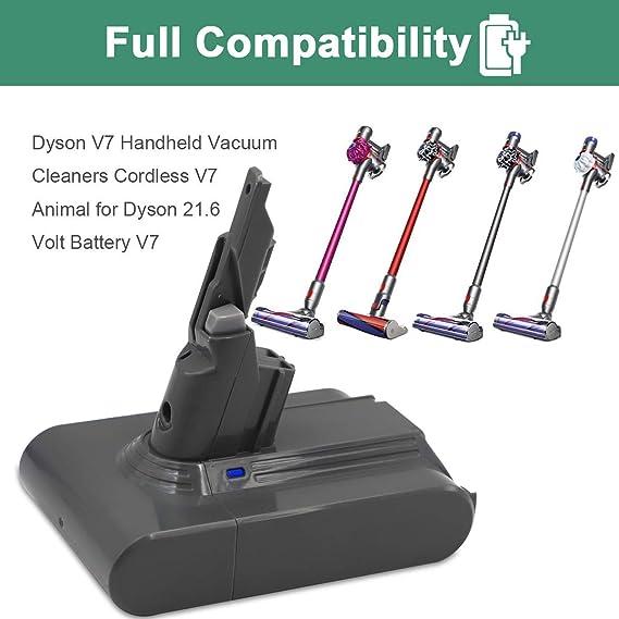 Amazon.com: Dyson - Batería de repuesto para Dyson V7 ...