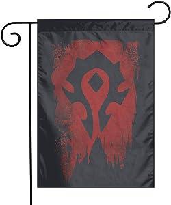 Ahdjagsads56 World of Warcraft Garden Flag 12x18 Inch Yard Flag