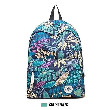 Casual impermeable nueva venta caliente flor 3D impresión mochila escolar: Amazon.es: Equipaje