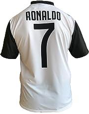 Maglia Juventus Cristiano Ronaldo 7 CR7 Replica Autorizzata 2018-2019  Bambino (Taglie-Anni 55f9e004da93