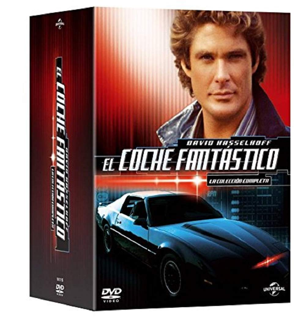 El Coche Fantástico Serie Completa Knight Rider Complete Series Non Usa Format Pal Import Spain Movies Tv
