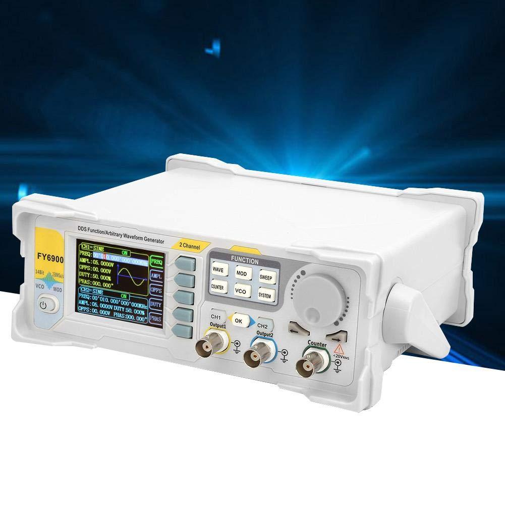 s Generador de se/ñal DDS 60MHz Medidor de frecuencia generador de funciones 250MSa EU