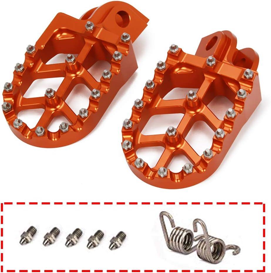 Honda CRF450 CRF450R CRF450X 2008 2009 2010 Wide Red Footpegs Foot Pegs F01-R