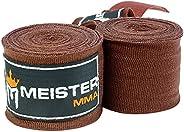 "Meister Adult 180"" Semi-Elastic Hand Wraps for MMA & Boxi"