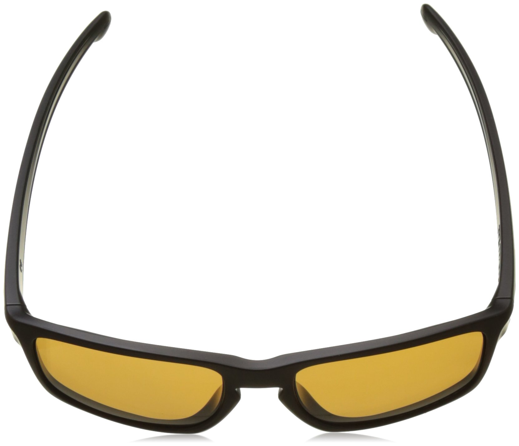 Oakley Men's Sliver OO9262-08 Polarized Rectangular Sunglasses, Matte Black, 57 mm by Oakley (Image #4)