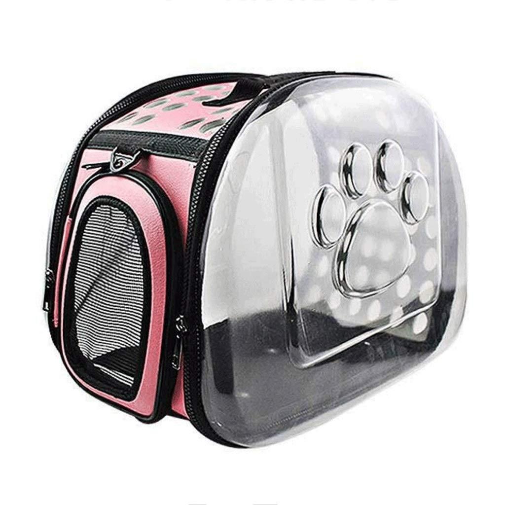 MMAWN ペットベッド犬、ウサギ、子犬、ハムスター、またはモルモット用の最高の運動用犬小屋 (Color : ピンク, Size : 36*20*22CM) ピンク 36*20*22CM