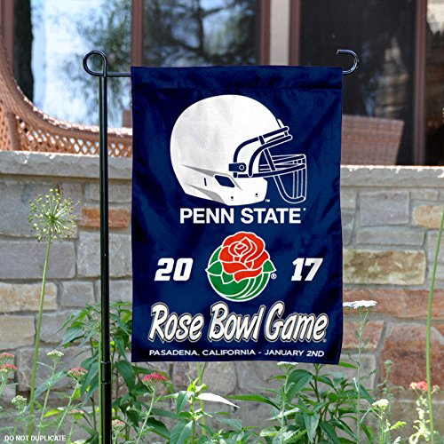 State Rose Bowl Penn (Penn State University Nittany Lions 2017 Rose Bowl Game Garden Flag)