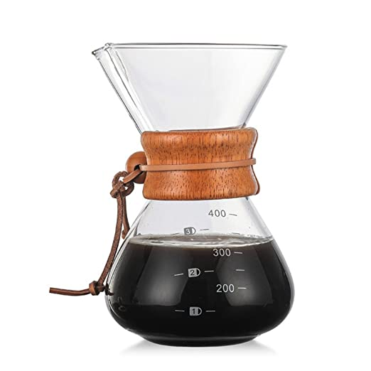 gaeruite Pour Over Coffee Maker - Calentador manual clásico para ...