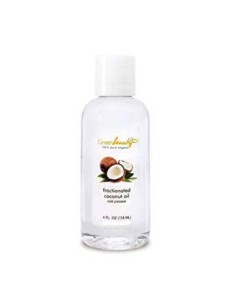 Amazon Com Organic Fractionated Coconut Oil Cold Pressed 100 Pure